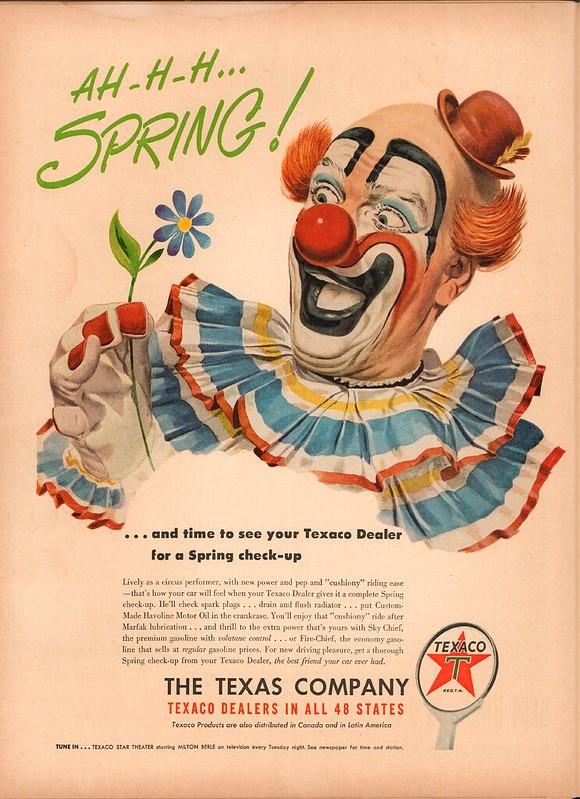 1950 Texaco Advertisement Life April 24 1950