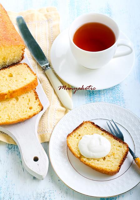 Coconut cake loaf