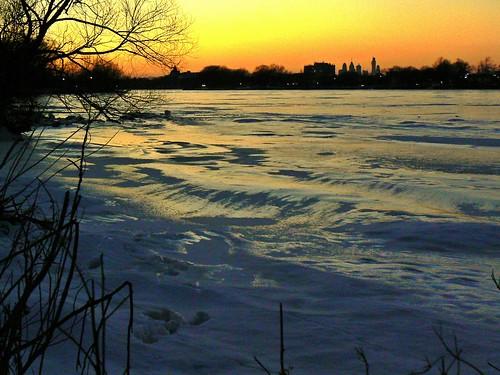 sunset ice skyline collingswoodnj