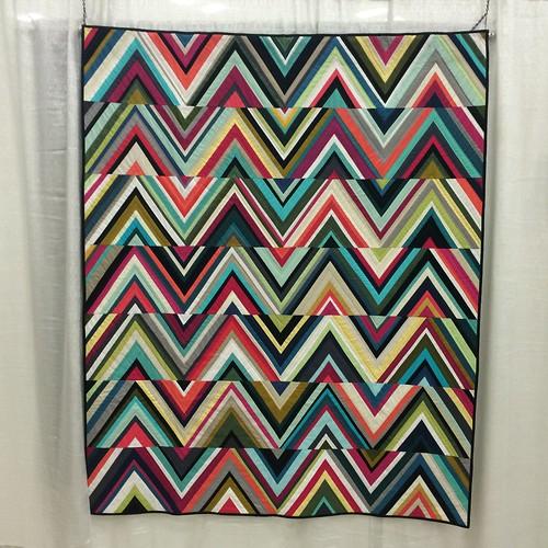 Triangles Quilt by Tara Faughnan (Oakland, California)