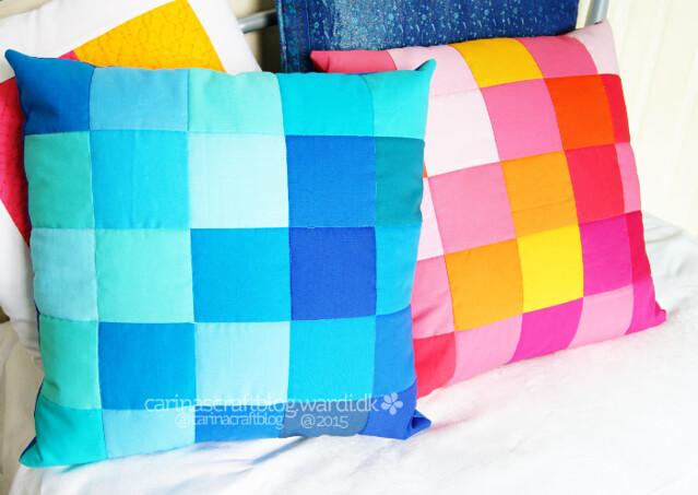 Pixel cushions