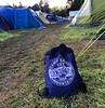 Camp Rainy Mountain has one of the best string backpacks. It survived #blairatholl2016. In use since 2011. @campraineymountain #blairatholl2016 #jamborette