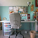 Sewing Table by PatchworkPottery