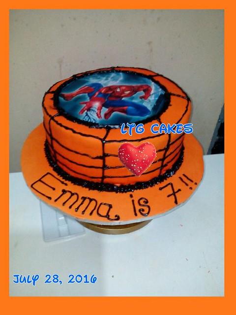 Spiderman Fondant Cake by Laide Tunde-Gafar of LTG Cakes