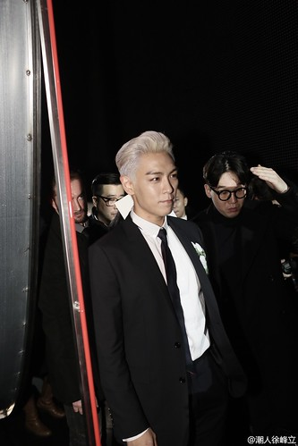 TOP - Dior Homme Fashion Show - 23jan2016 - 潮人徐峰立 - 03