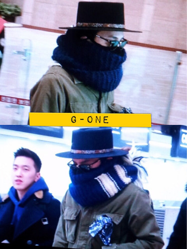 Big Bang - Gimpo Airport - 27feb2015 - G-Dragon - G-One - 01