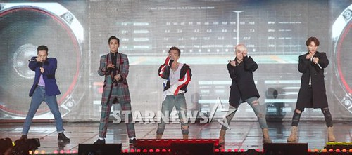 Big Bang - The 5th Gaon Char K-Pop Awards - 17feb2016 - Starnews - 14