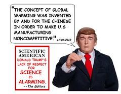 Donald Trump, Scientist
