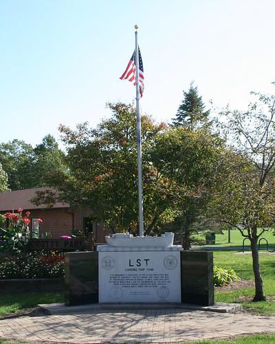 LST Memorial, Crotty Park, Seneca Illinois