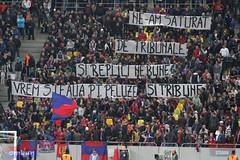 Steaua-FC Zürich, atmosfera