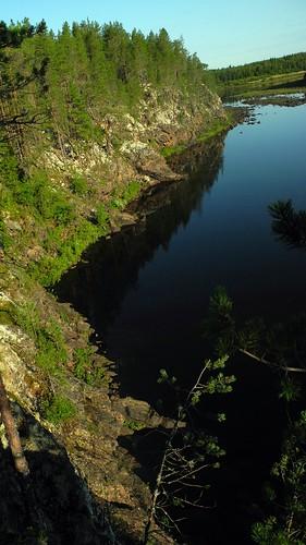 summer finland river landscape geotagged july lapland fin pep lappi aska 2014 sodankylä kitinen 201407 porttikoski 20140724 geo:lat=6730698572 geo:lon=2669720650