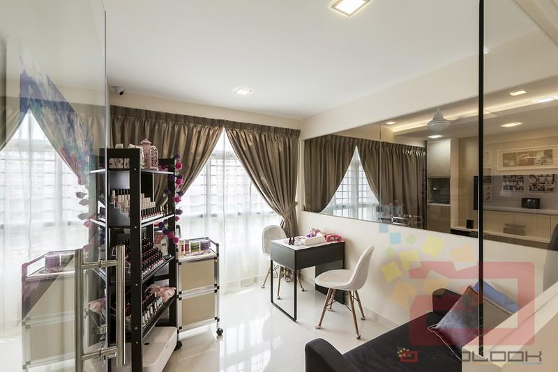 Hdb 5 room bto neutral palette blk 315c yishun greenwalk for Hdb household shelter design