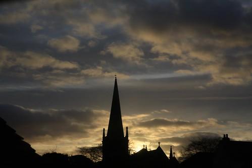 sunset sky church tramonto chiesa cielo buckingham