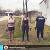 #Repost @crossfitarmada ・・・Looks like @imelda, @vcharg & @kel2102 are going nothing, but they are actually meditating WHILE working on grip strength! :smiley: #armadastrong #crossfit #opengym #gripstrength #kettlebells