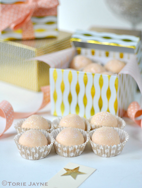White chocolate & Orange truffles 1