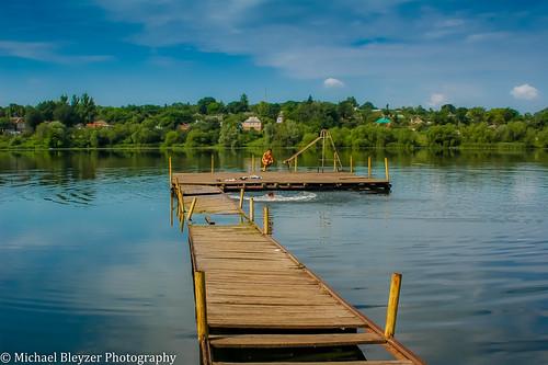 lake boys pond ukraine goodtimes