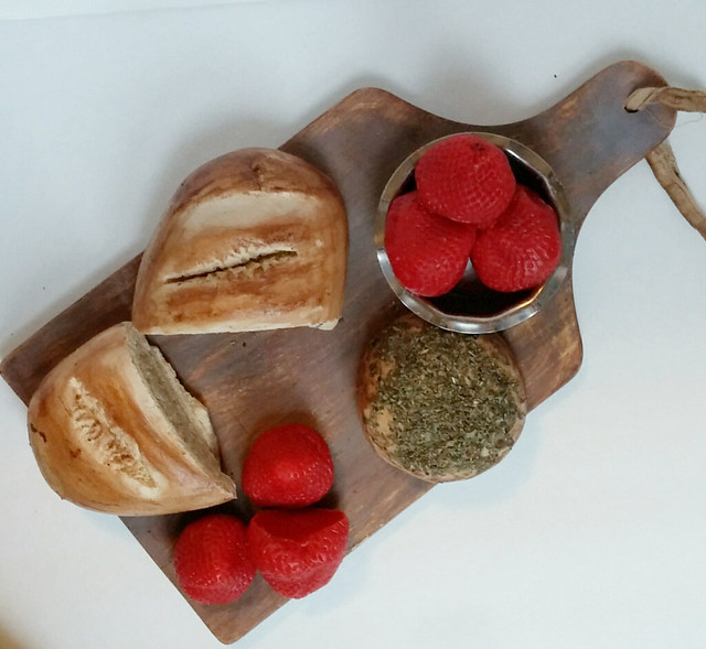 Flickriver everything dawn bakery candle treats 39 s photos for Artificial bread decoration