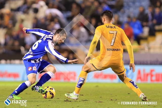 Jornada 14ª. R.C.Deportivo - Málaga