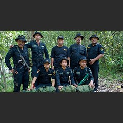 Seven four-man #Rhino Protection Units patrol Bukit Barisan Selatan, and five are stationed at Way Kambas in Indonesia. These 48 men help ensure the safety not only of Sumatran #rhinos, but also of many other threatened species that inhabit the tropical f