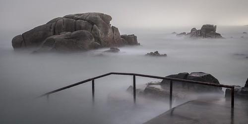 ireland dublin mist seascape tower water swimming sunrise foot james long exposure south ngc joyce canon5d 40 milky forty sandycove 40footsandycove