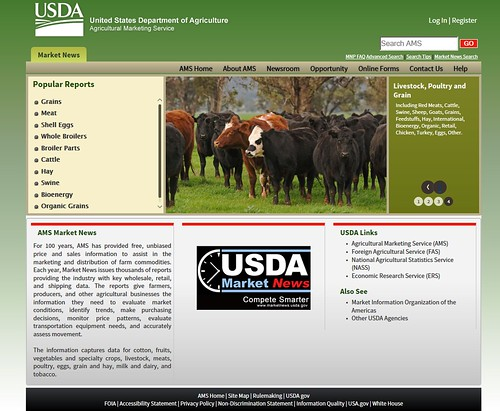 USDA Market News is continuously changing to meet the needs of the dynamic agricultural industry and the data users that we serve.