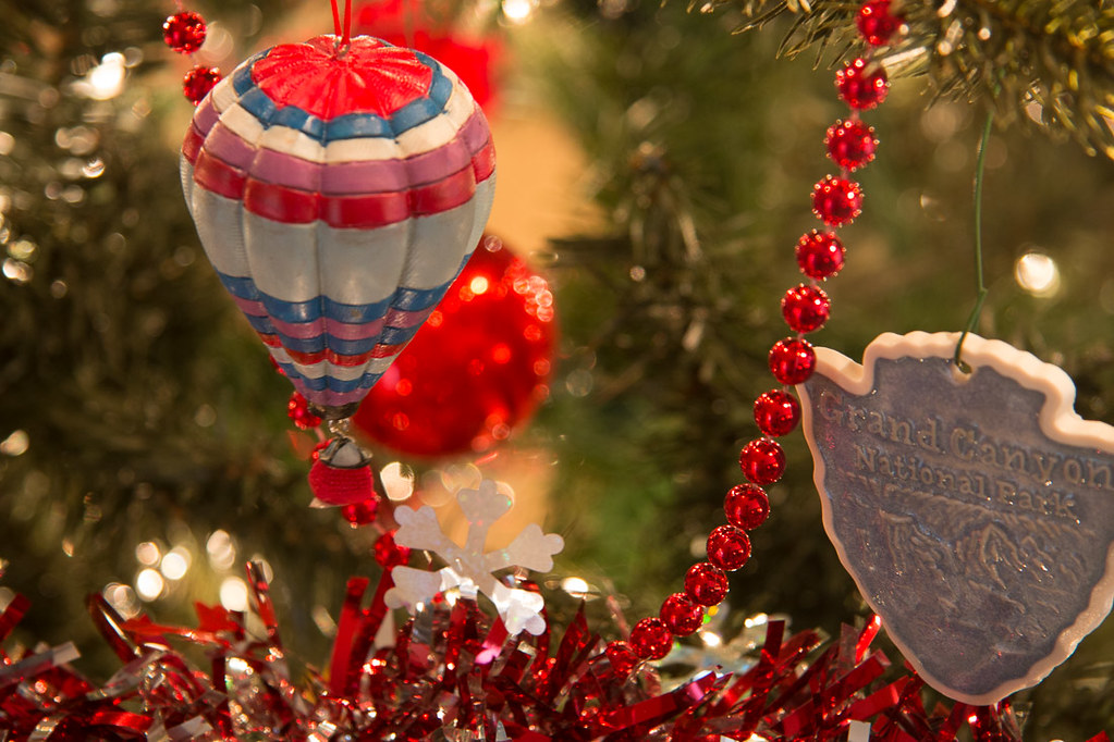 Christmas tree sentimental ornaments