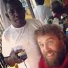 Heading for a head cut #jamaica #barber @theoutlawbarber @junior_barbershop