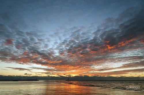 winter seascape ice water wisconsin sunrise landscape dawn nikon lakemichigan milwaukee markadsit