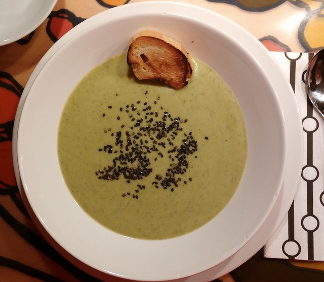 Brokkoli-Kokos-Suppe