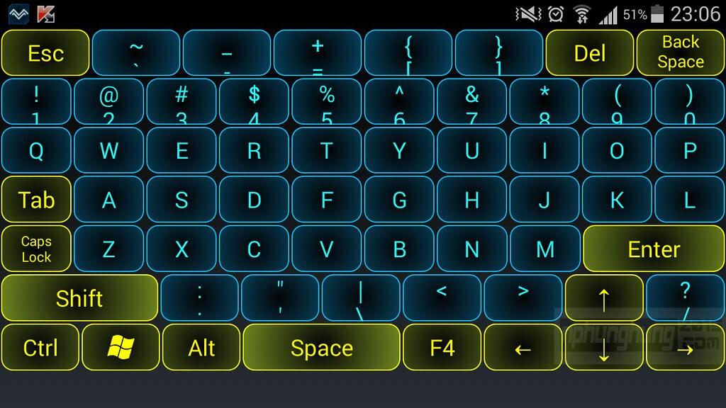 Biến thiết bị Android thành bàn phím