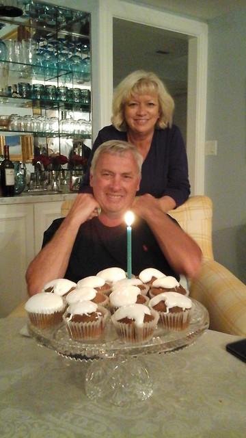 Bob's birthday - with Darlene