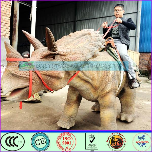 Walking Triceratops Ride