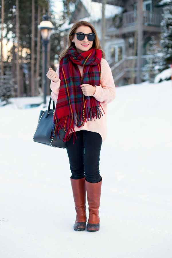 Mountain cozy outfit