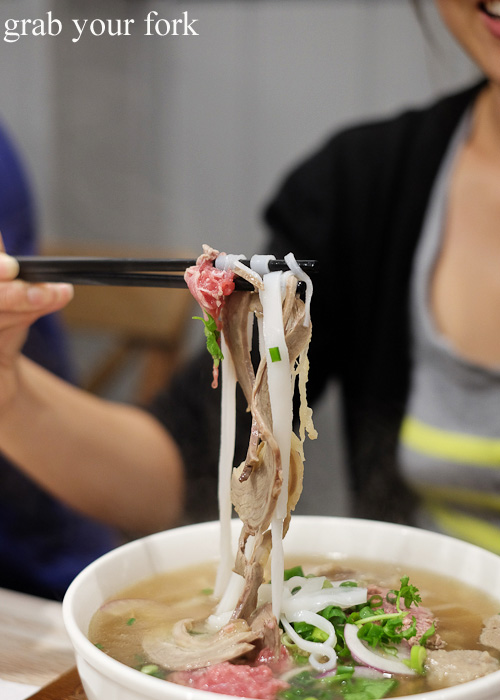 Pho bo dac biet beef special noodle soup at Me Oi, Strathfield