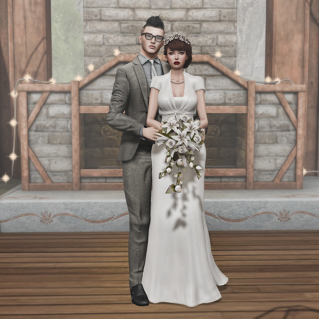 My Big Fake Second Life Wedding