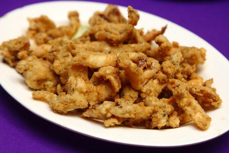 Snow Beer Deep-Fried-Calamari