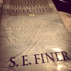 Tonight's plan is to start reading the 3rd. book of Finer's History of Government! #reader #reading #readingtime #history #government #Finer #1647PagesToGo!