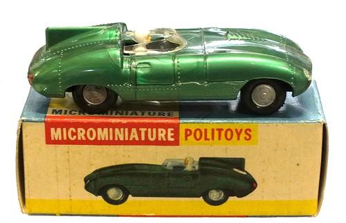 15 Politoys Jaguar D Le Mans