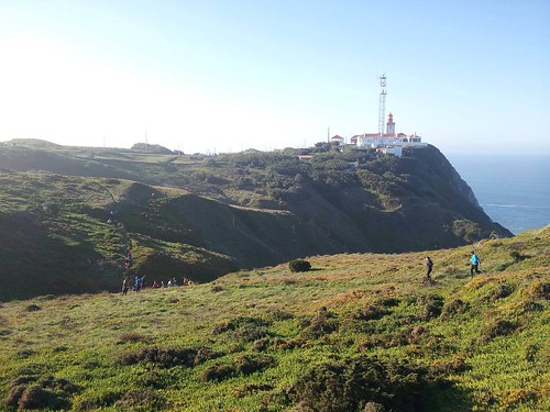 Running by Cabo da Roca