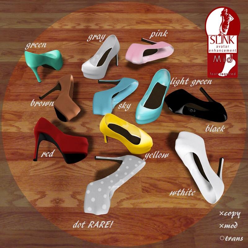 M.I.X.*colorful heels(GACHA)