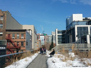 Winter Walk Along The Highline