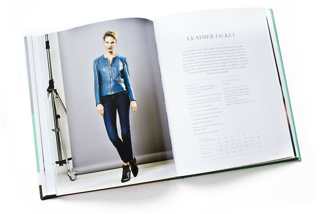 The Great British Sewing Bee Book Fashion With Fabric Leather Jacket