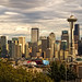 Seattle Skyline by Steven Lamar