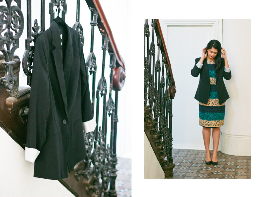 {a guide to the perfect blazer} via chevrons & éclairs