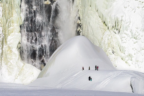 winter canada frozen quebec hiver falls sugarloaf montmorency chute gelé paindesucre mircea2309