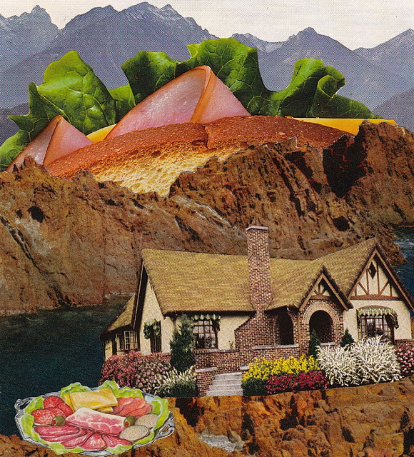 Cold Cuts Cottage Collage