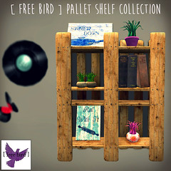 [ free bird ] Pallet Shelf Collection Ad