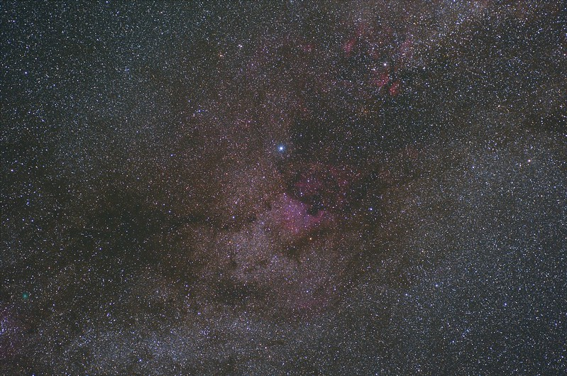 Wide field of Cygnus