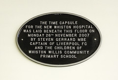 Photo of Black plaque number 39166