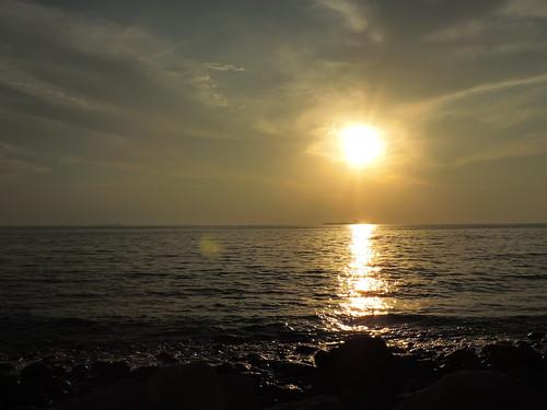 sunset persian nikon gulf iran persiangulf asalu